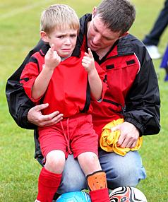 parenting, emotional athlete